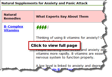 natural supplements anxiety image