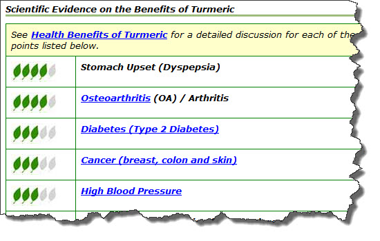 turmeric health benefits image