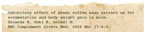 research study on green coffee bean image 1