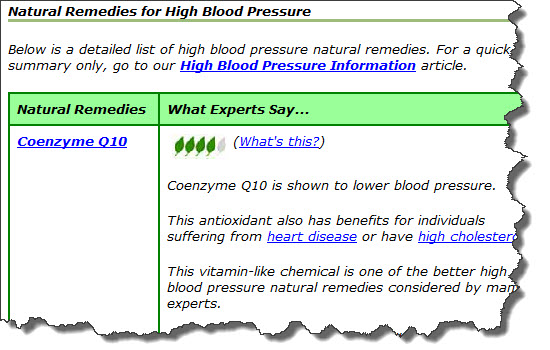 high blood pressure remedies image