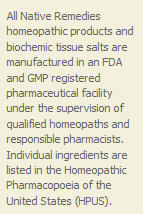 homeopathic remedies statement