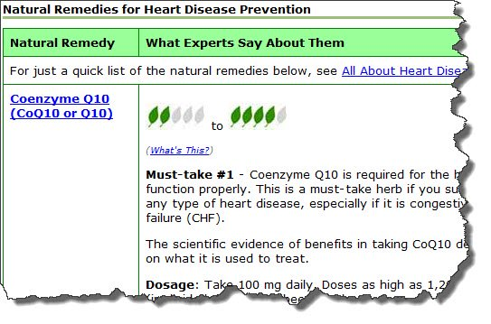 natural remedies for heart disease image